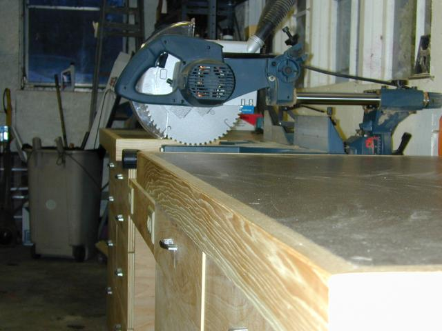 Sliding Compound Miter Saw Table Plans